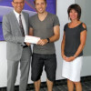 Generous donation from a role model and Olympic champion: Francois-Louis Tremblay