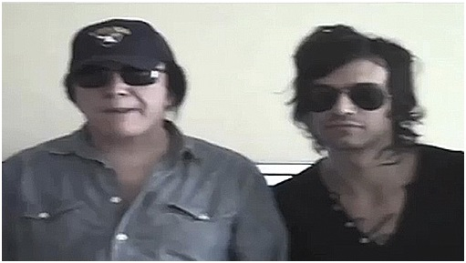 Photo: Gene Simmons from KISS and Steve Mastroainni (aka VØID) We couldn't agree more.
